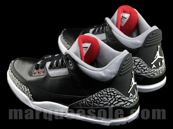 Air Jordan III (3) Black Cement 2011