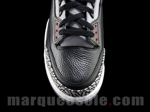 Air Jordan III (3) Black Cement 2011