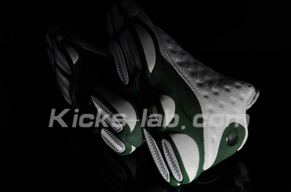 Air Jordan XIII (13) Ray Allen 3-Point Record PE Detailed Look