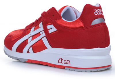 Asics Gt-II Deep Red White