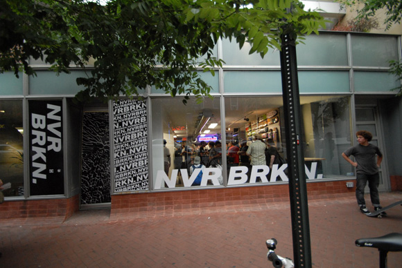 DC NVRBRKN Collection Launch