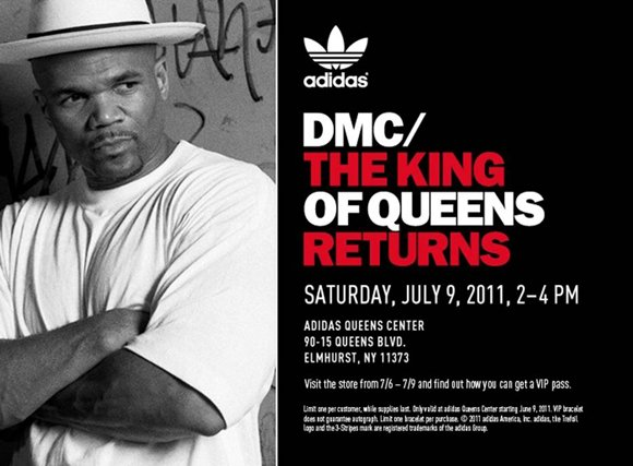 DMC x adidas The King of Queens Returns Event