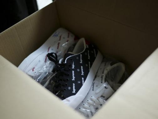 fragment design x Supreme x Nike Sportswear All Court Low - Teaser Pic