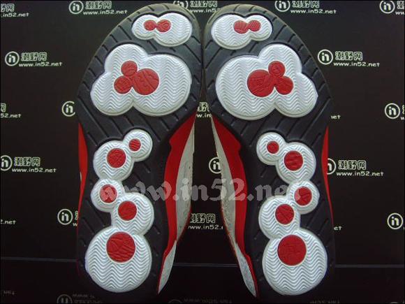 Jordan 2 Smooth White Black–Red
