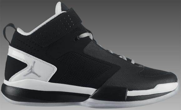 48c7b5d46f5fca Jordan BCT Mid Black Metallic Silver-White