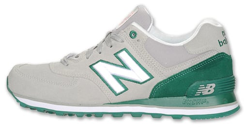 new balance 574 green gray