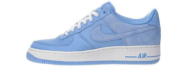 Nike Air Force 1 Blanc Bleu Universitaire Bas Et Bleu dédouanement bas prix Peu coûteux réduction avec paypal peu coûteux CHl0vw
