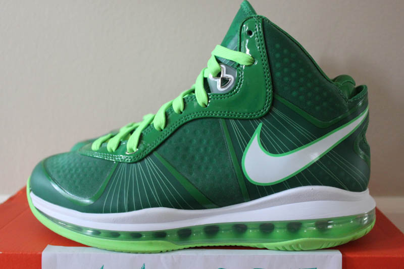 Nike-Air-Max-LeBron-8-V/2-Victory-Green/White-Electric-Green-Sample-02