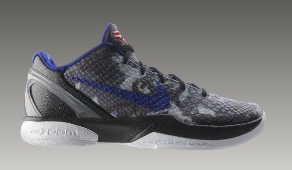 Nike Zoom Kobe VI (6) Camo - Concord + Black + White
