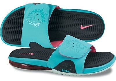 official photos 8d54d 62f87 Nike LeBron Slide South Beach Sandals