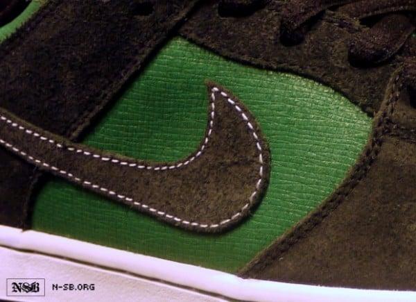 Nike SB Dunk Low Green Woodgrain 50%OFF