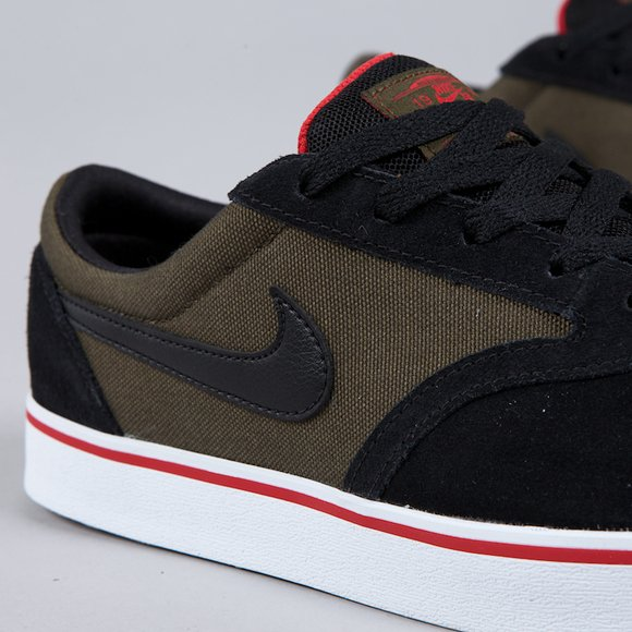 Nike SB V-Rod Dark Loden Black-Sport Red