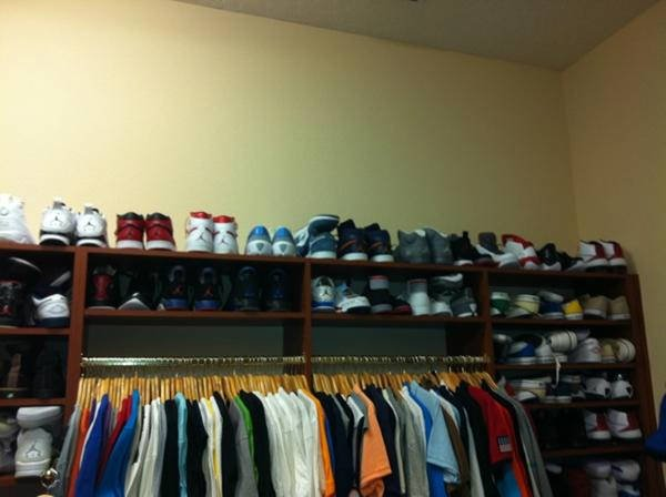 Quentin Richardson Displays Air Jordan Collection