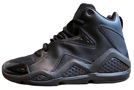 Swizz Beatz x Reebok Kamikaze III Blackout Another Look