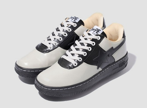 A Bathing Ape Saddle Bape Sta - Black/Grey