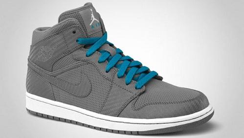 Air Jordan I (1) Phat - Cool Grey/Imperial Blue-White