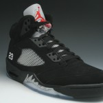Air Jordan V (5) Retro – Black/ Metallic Silver