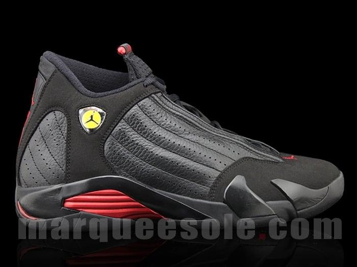 the latest 137e3 d21f1 ... shopping air jordan xiv 14 retro black red 78407 4607e