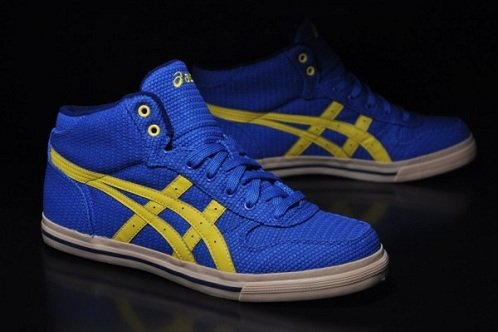 lowest price 6d352 9ebc3 Asics Aaron MT RCV - Royal Yellow
