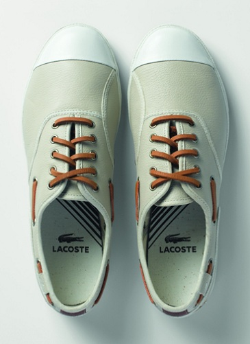Lacoste LED Footwear Collection - Spring 2012 Preview