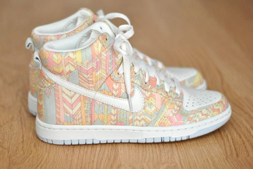 Liberty London x Nike Dunk High Skinny