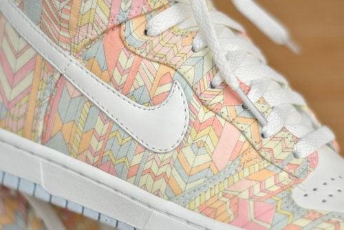 Liberty London x Nike Dunk High Skinny