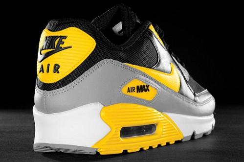 Nike Air Max 90 - Black/Grey-Varsity Maize