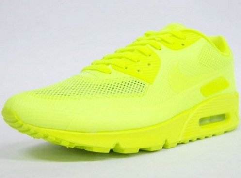 Nike Air Max 90 Hyperfuse - Neon Yellow