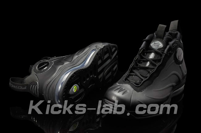 901d67b6b7304 Nike Air Total Foamposite Max Black  Black- Anthracite – Release Information