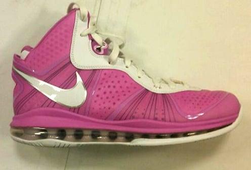 "Nike LeBron 8 V/2 - Swin Cash ""Think Pink"" PE"