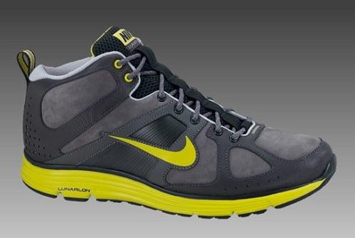 Nike Lunar Elite Trail - Dark Grey/High Voltage