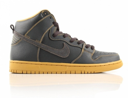 Nike SB Dunk High - Anthracite/Gold