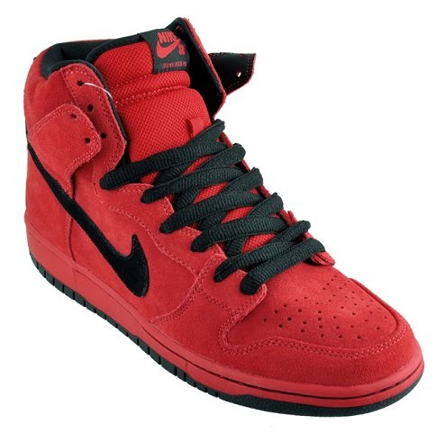 Nike SB Dunk High - Red/Black