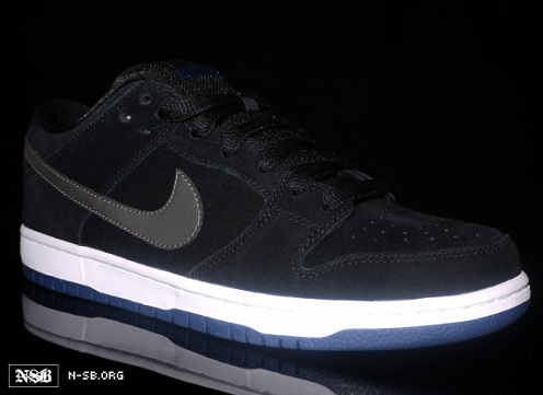 Nike SB Dunk Low - Black/Grey/White/Blue