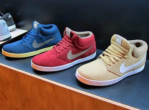 Nike SB P-Rod V - Spring 2012 Colorways