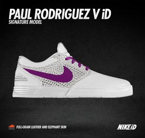 Nike SB P-Rod V Now on Nike iD