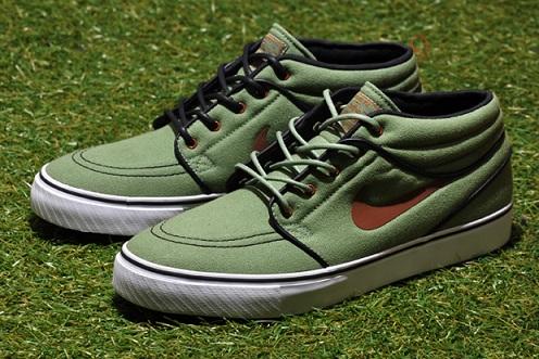Nike SB Stefan Janoski Mid - Oil Green
