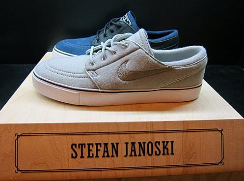 "Nike SB Stefan Janoski ""Nightshade"" & ""Jersey Fleece"" - Another Look"