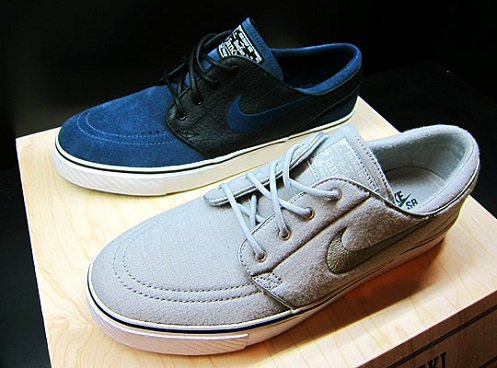 "Nike SB Stefan Janoski ""Nightshade"" & ""Jersey Fleece"" - Another Look"