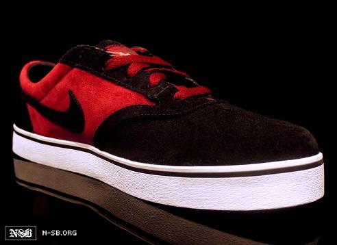 Nike SB V-Rod - Black/Maroon