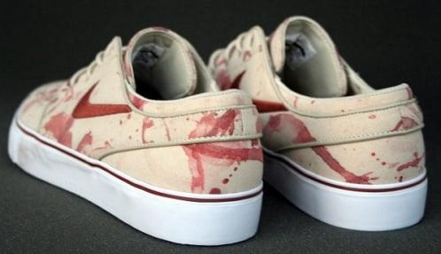 "Nike SB Zoom Stefan Janoski ""Blood Splatter"" - New Images"