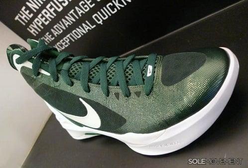 Nike Zoom Hyperdunk 2011 TB - Gorge Green/White