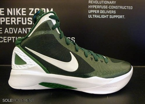 green and white hyperdunks