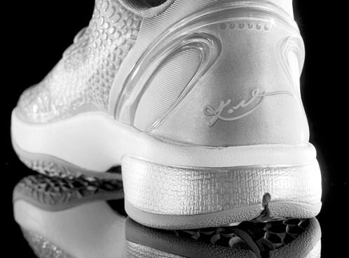 Nike Zoom Kobe VI - Silver/White