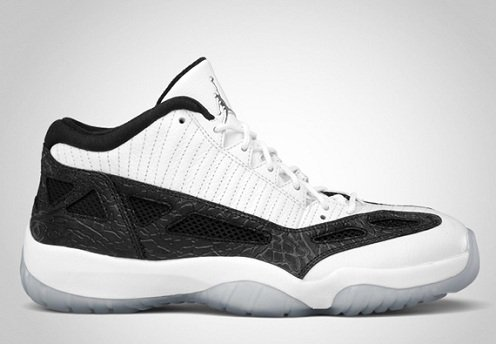 Release Reminder: Air Jordan Retro XI (11) IE Low White/Metallic Silver-Black