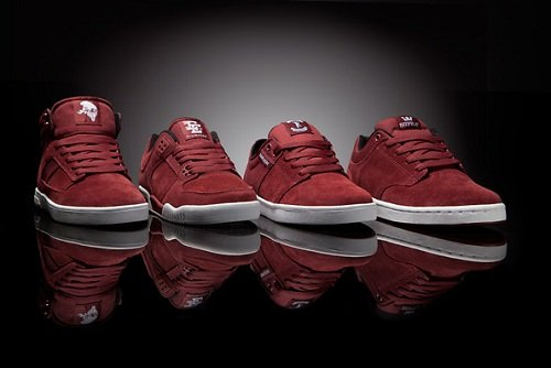 Supra Burgundy & Brown Packs