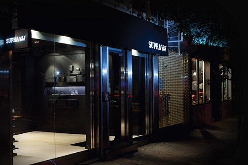 Supra Opens Flagship Store in NYC