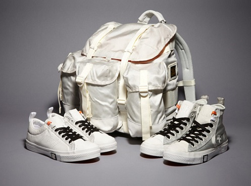 Undefeated x Converse White Ballistic Capsule
