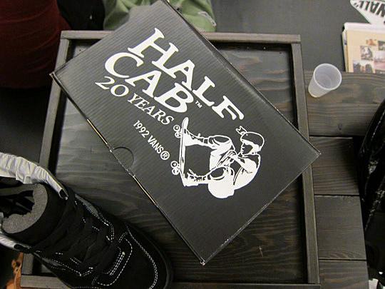 Vans Half Cab - 20th Anniversary - Supreme Exclusive-3