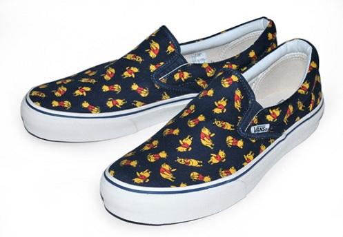 Winnie the Pooh x Vans Slip-On